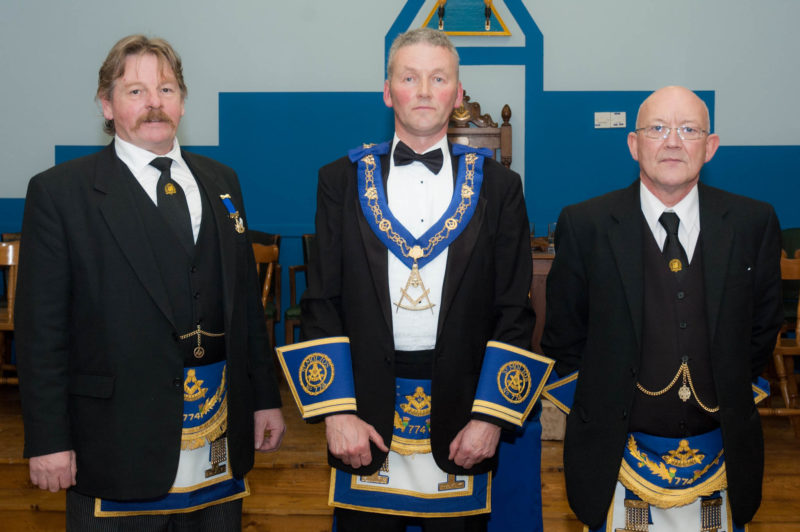 Lodge St Molios No 774 Installation 2011 RWM with Installing Masters