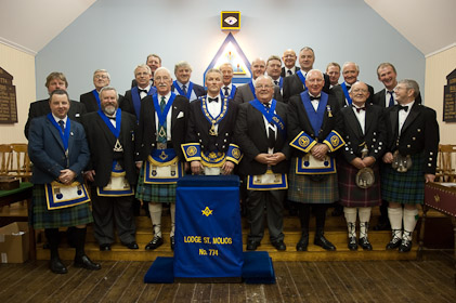 Installation of Donald Mackay