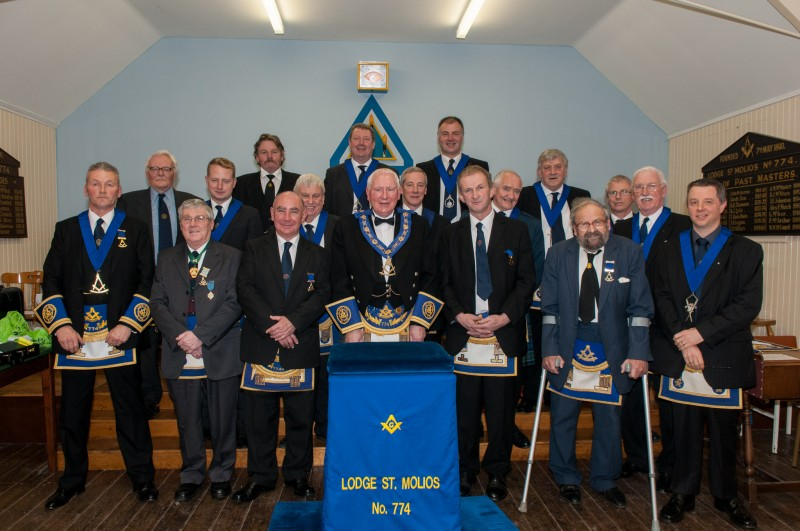 Lodge St Molios No 774 Office Bearers 2012
