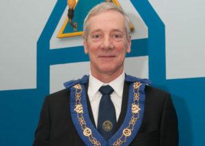 Chris Stirland RWM of Lodge St Molios No 774